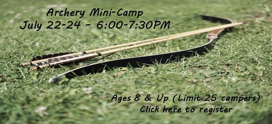 Archery Mini-Camp 2019