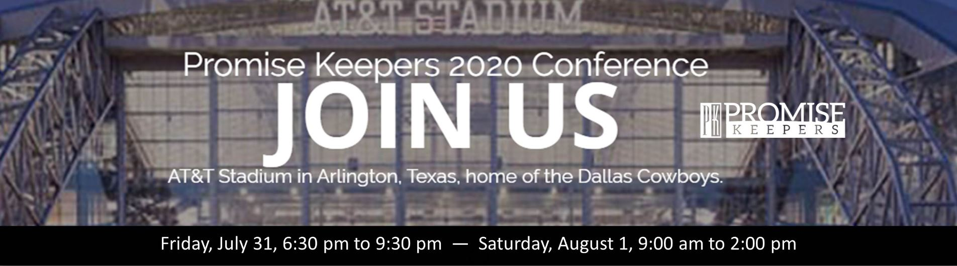 Promise Keepers Men's Conference  - CCF MEN