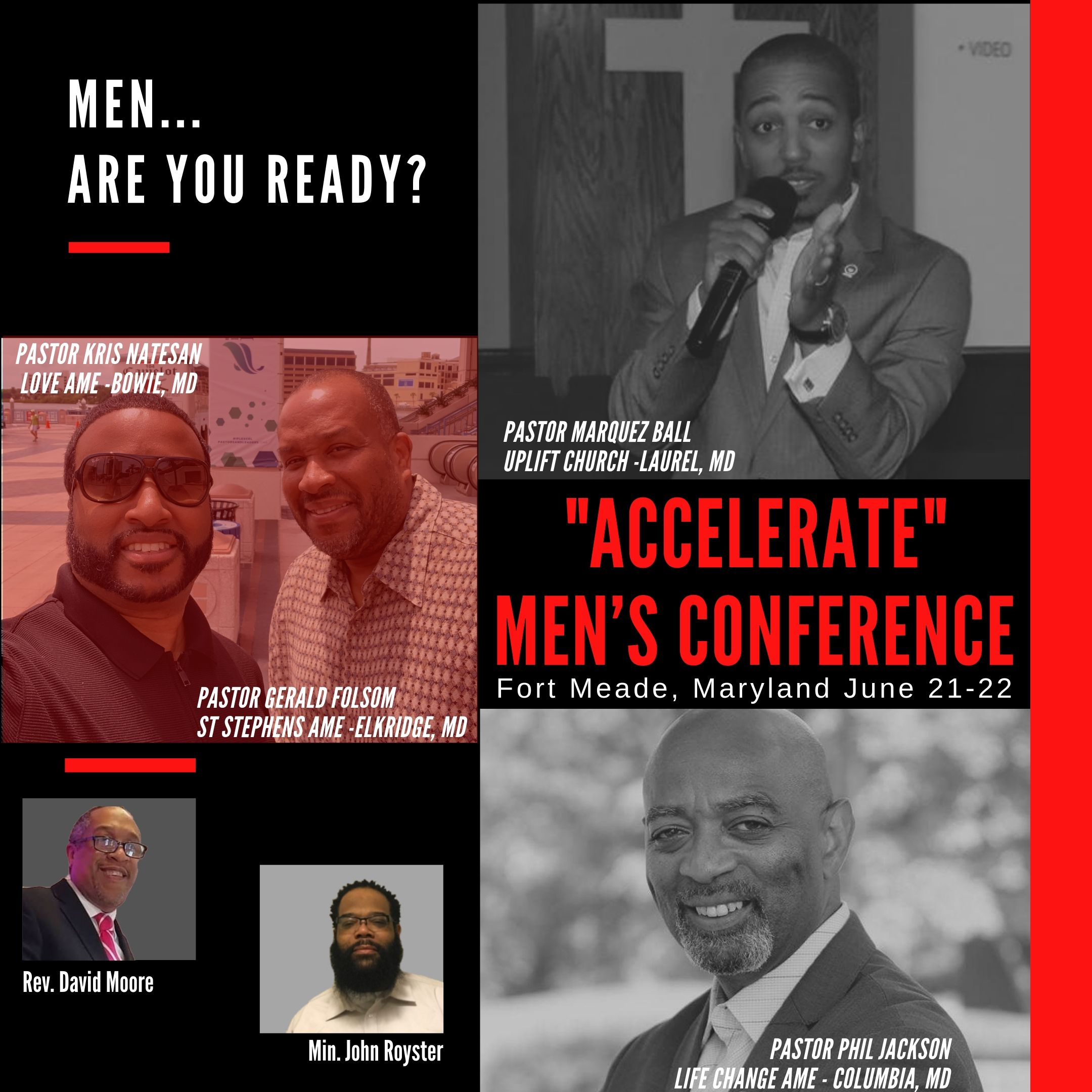 2019 Accelerate Men's Conference