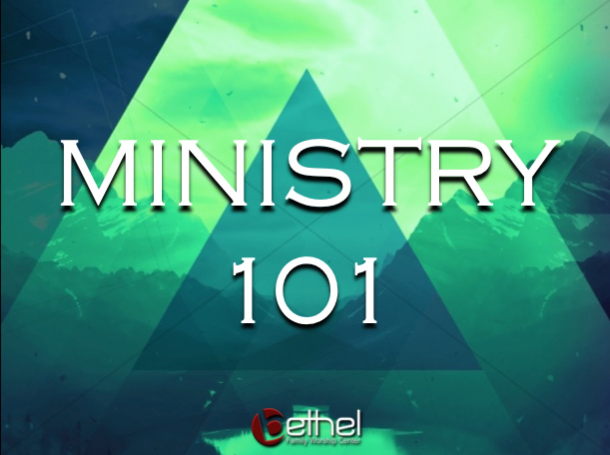 Ministry 101 Class Interest Form