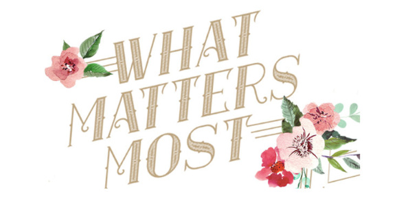 Ladies Bible Study - What Matters Most
